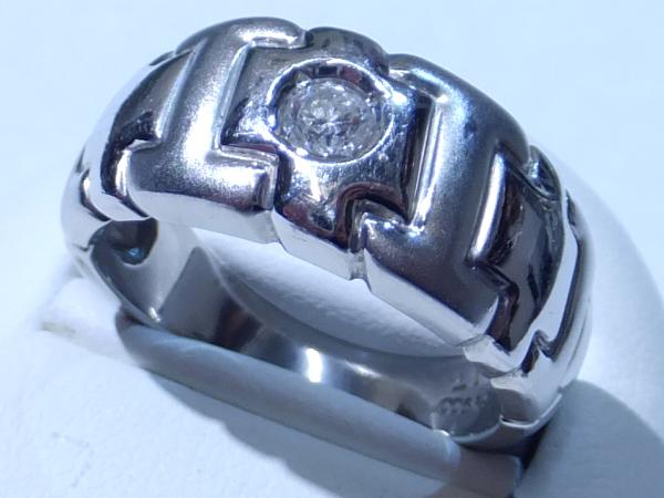 PT900 ダイヤモンド0.17ct リング
