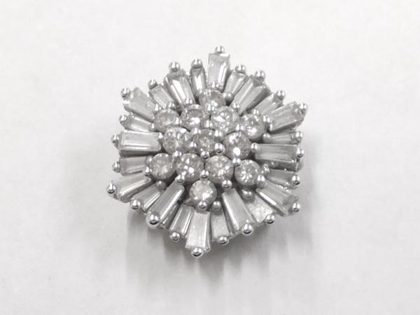 18金 ダイヤモンド ペンダントヘッド