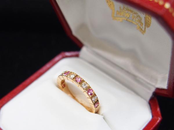 Cartier カルティエ ラニエール ダイヤ&サファイア リング