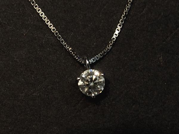 ダイヤモンド 0.3ct ネックレス