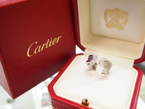 Cartier 2C ダイヤモンド リング