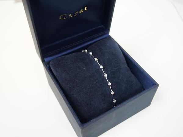 ダイヤモンド 1.00ct ブレスレット Pt900