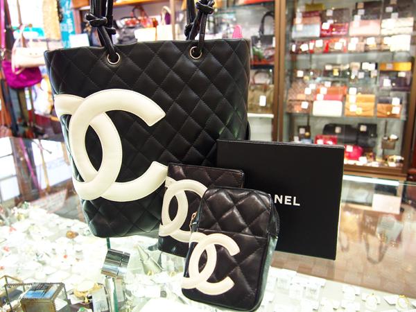 CHANEL カンボン バッグ 財布 シガレットケース