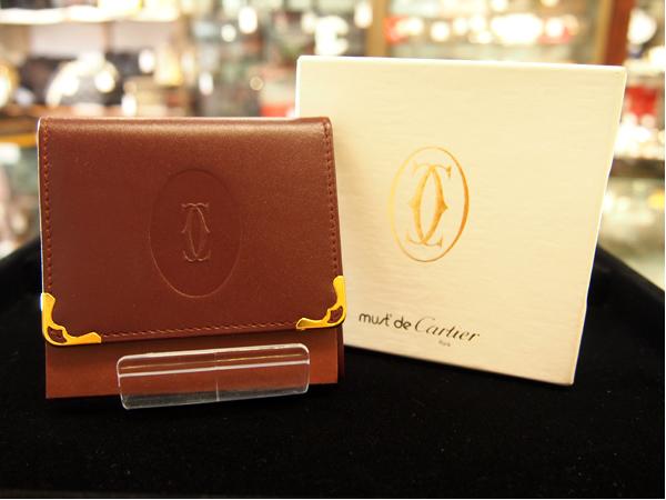 Cartier カボション コインケース