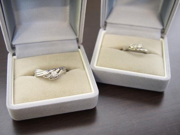 ダイヤモンド PT 指輪