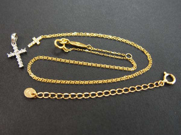 AHKAH ダイヤモンド ネックレス K18