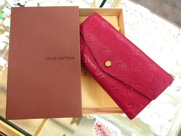Louis Vuitton モノグラム アンプラント 長財布
