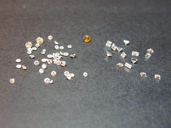 ダイヤモンド  ルース  裸石  総計1.9ct