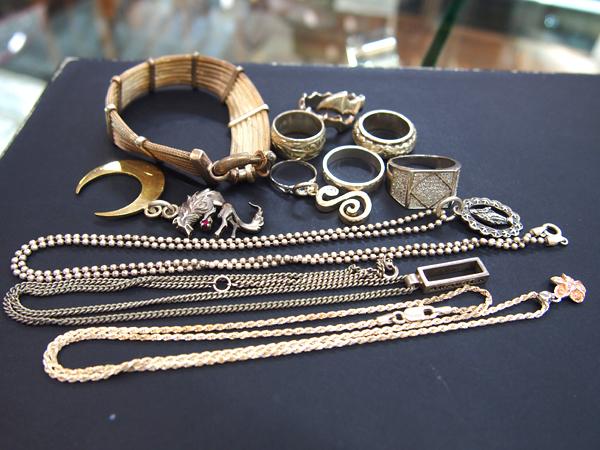 シルバー リング ブレスレット ネックレス 多数