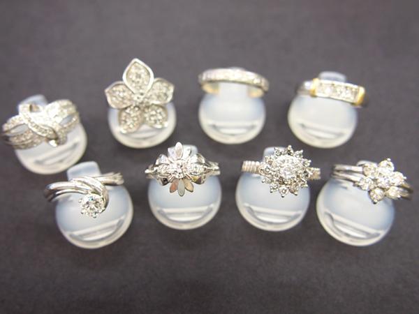 ダイヤモンド  指輪  Pt900
