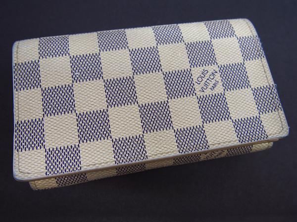 LOUIS VUITTON ダミエアズール 財布