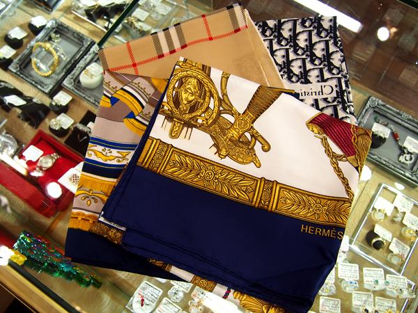 BURBERRY  Christian Dior  HERMES ノーブランド スカーフ