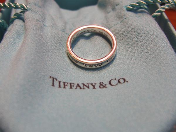 Tiffany SV 指輪