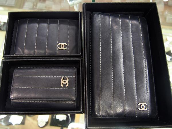CHANEL キーケース カードケース 財布 レザー