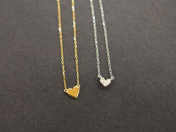 AHKAH K18 ノンブランド ダイヤモンド ネックレス 2点