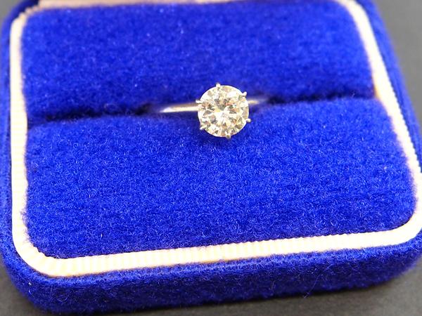PT850 ダイヤモンド 指輪