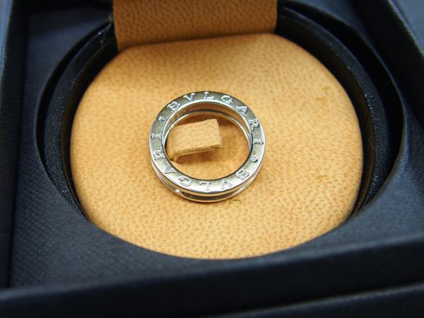 BVLGARI B-ZERO1 K18WG 指輪 付属品有り