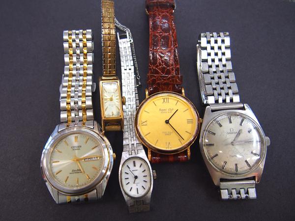 ウォッチ 時計 オメガ 5本