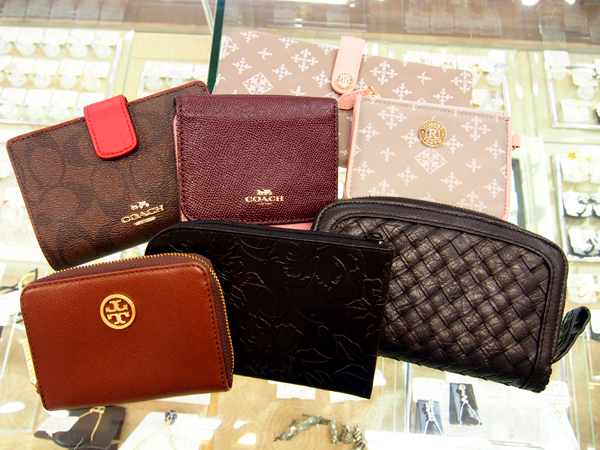 COACH TORY BURCH russet ウォレット 複数