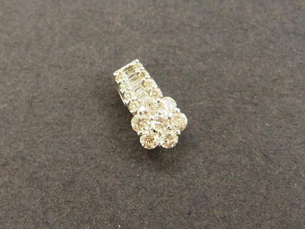 PT900 ダイヤモンド ペンダントヘッド
