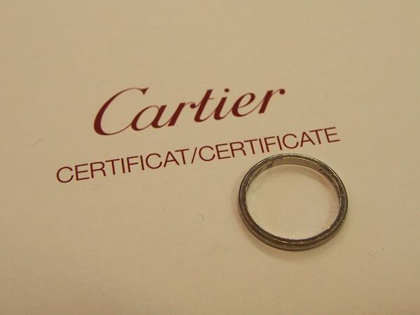 カルティエ PT900 指輪
