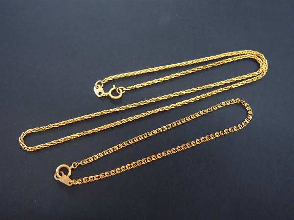 K18 ブレスレット ネックレス