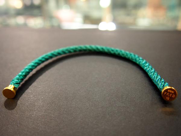 FRED コード ブレスレット 16cm