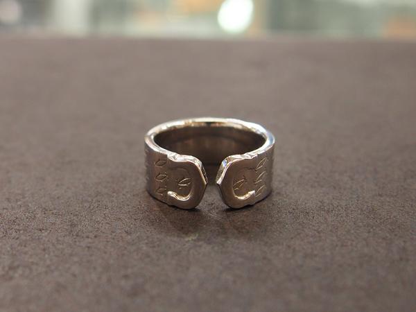 Cartier K18 WG 指輪