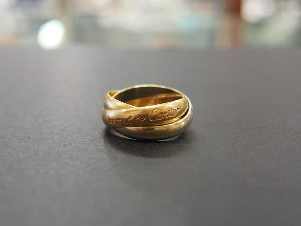 K18 Cartier 指輪