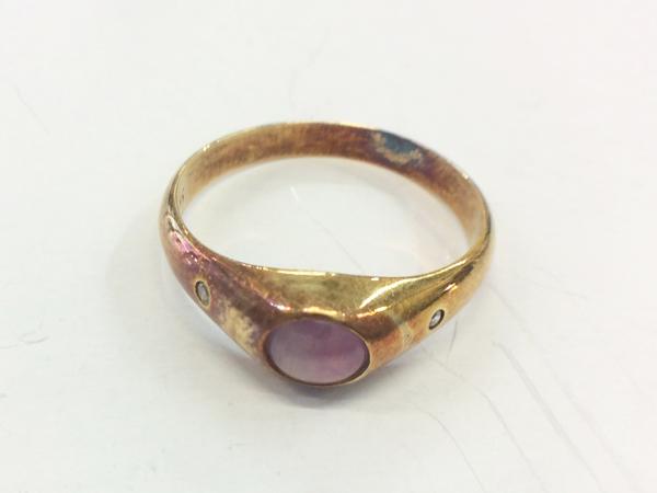 K14 YG 指輪