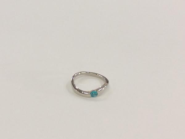 プラチナ パライバトルマリン 指輪