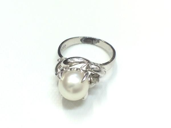 PT900 真珠 指輪