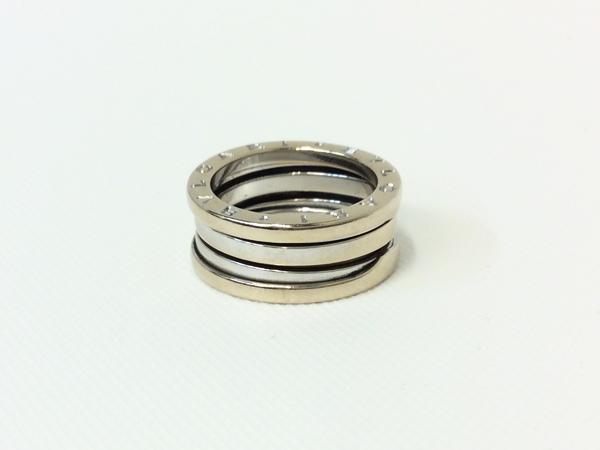 BVLGARI K18WG 指輪