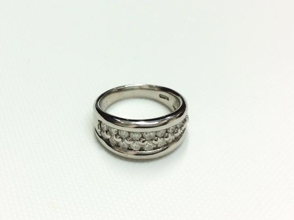 PT900 ダイヤ 指輪