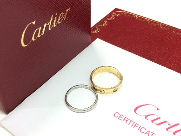 Cartier  リング 2点