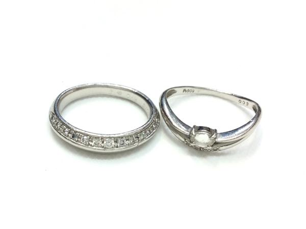 PT900 ダイヤなど 指輪