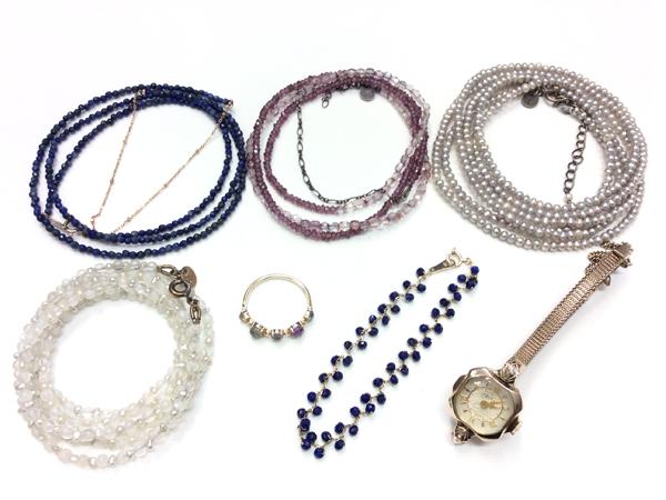 agete K10 ネックレス・リング・ブレス・時計