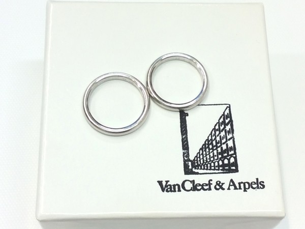 Van Cleef & Arpels PT950 指輪 2点