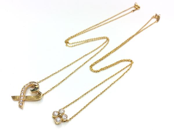 Tiffany & Co ダイヤ 2点