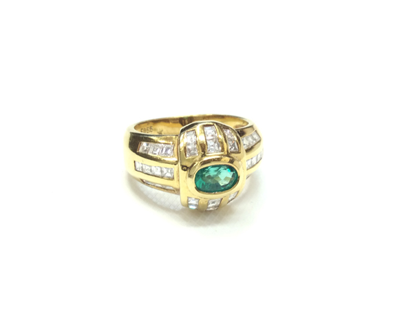 K18 YG 指輪