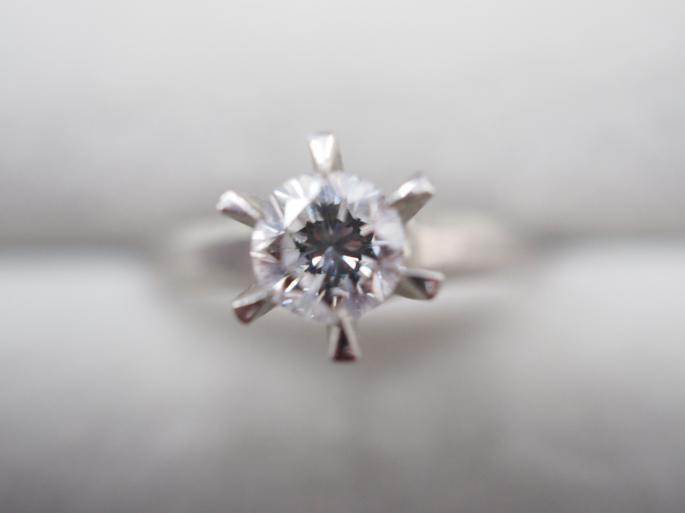 リング Pt900 4.5g 0.54 ct ダイヤモンド