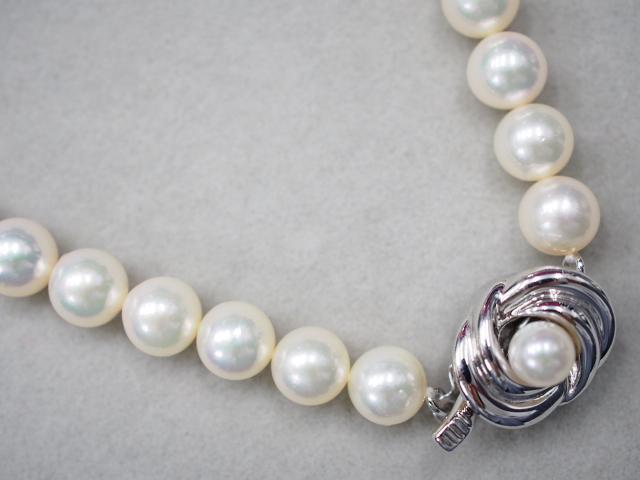 タサキ ネックレス シルバー 34.1g アコヤ真珠