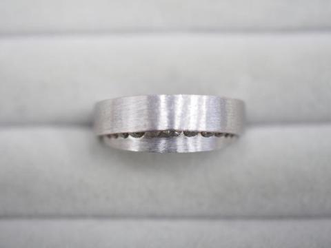 カシケイ リング K18WG 9.2g ダイヤ 0.25ct マイン