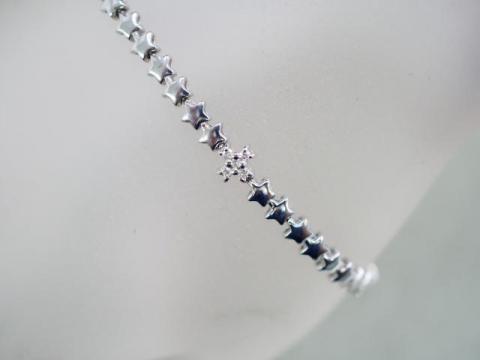 ブレスレット K18WG 8.9g ダイヤ