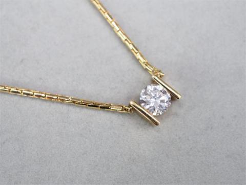 ネックレス K18YG 14.7g ダイヤ 2.007ct