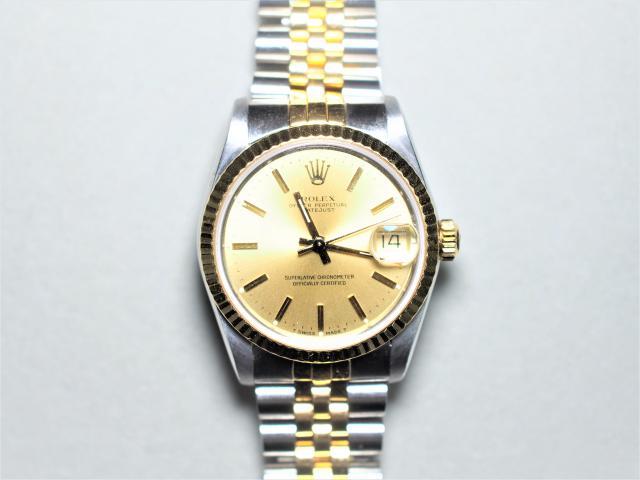 ロレックス 時計 K18/SS デイトジャスト ボーイズ68273 1987年前後 966・・・・
