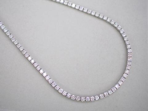 ネックレス Pt900 44.3g ダイヤ 20.97ct