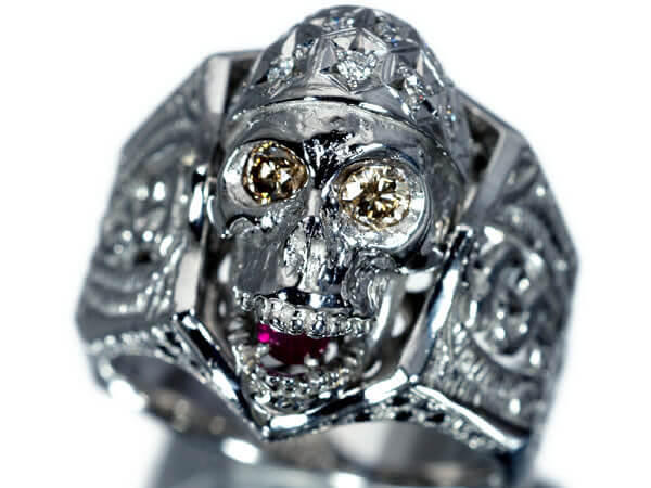 カリブの海賊 ダイヤモンド ルビー リング 20g 130,000円