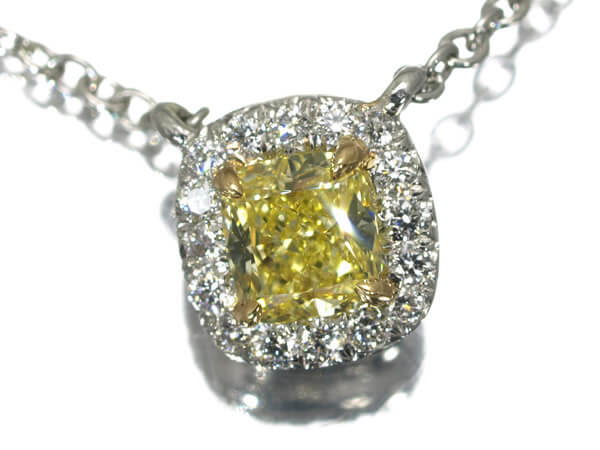 Tiffany tiffany fancy intense yellow 021ct pt950 250000 mozeypictures Image collections