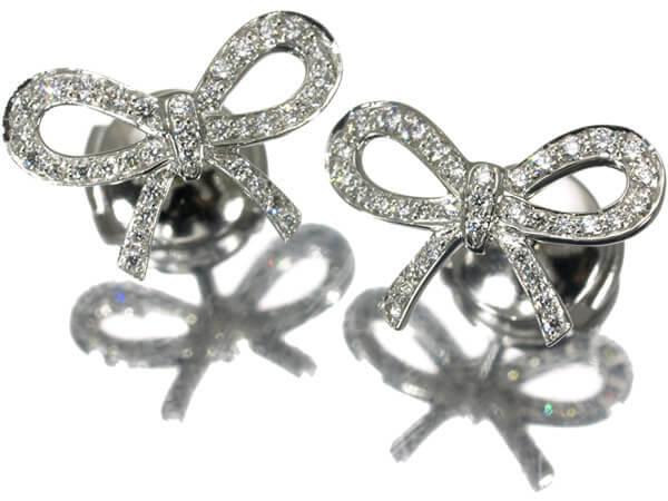 ダイヤモンド、プラチナ950 ピアス 180,000円